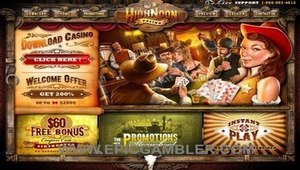 High Noon Casino $60 Free
