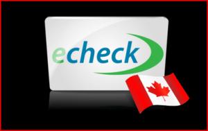 Online casinos accepting Echeck